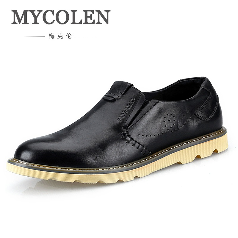 MYCOLEN 2018 Spring Summer New Arrive Men Shoes Comfortable And Breathable Mens Shoes Casual Luxury Durable Flat Shoes mycolen new 2018 men shoes brand flat shoes men fashion male shoes summer footwear comfortable men casual shoes chaussure