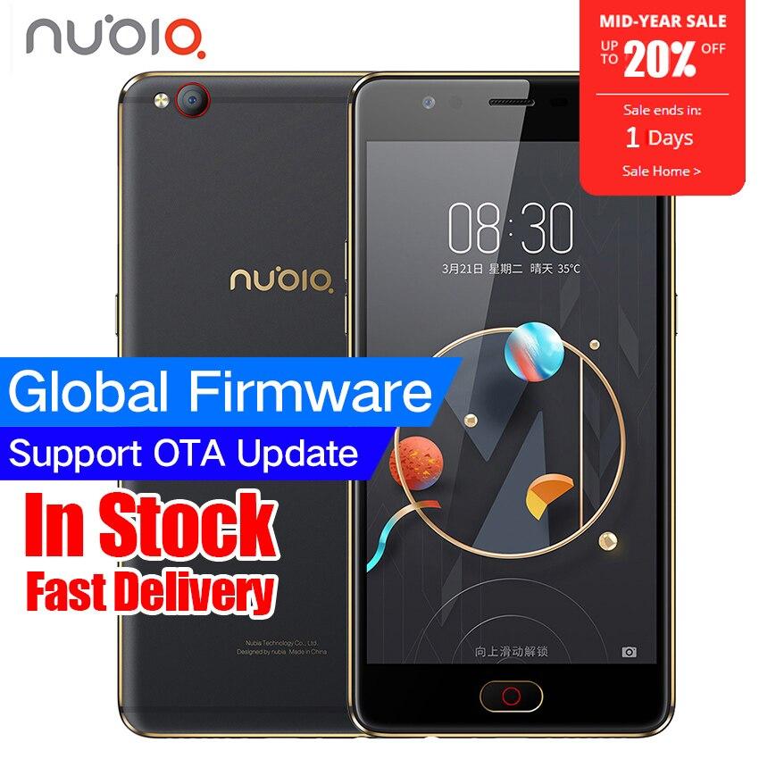 c3e2a73e215 Original ZTE Nubia M2 LITE 4G LTE MT6750 Octa Core Android M 5.5″ 3G RAM  64GB ROM 16.0MP 3000mAh Battery Fingerprint Smartphone free shipping  worldwide