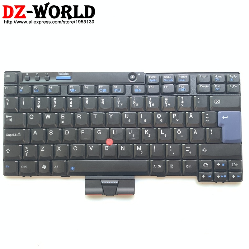 New Original Swedish Finnish Keyboard for Thinkpad X200 X200S X200 Tablet X201 X201i X201S X201 Tablet Teclado 42T3744 42T3678New Original Swedish Finnish Keyboard for Thinkpad X200 X200S X200 Tablet X201 X201i X201S X201 Tablet Teclado 42T3744 42T3678