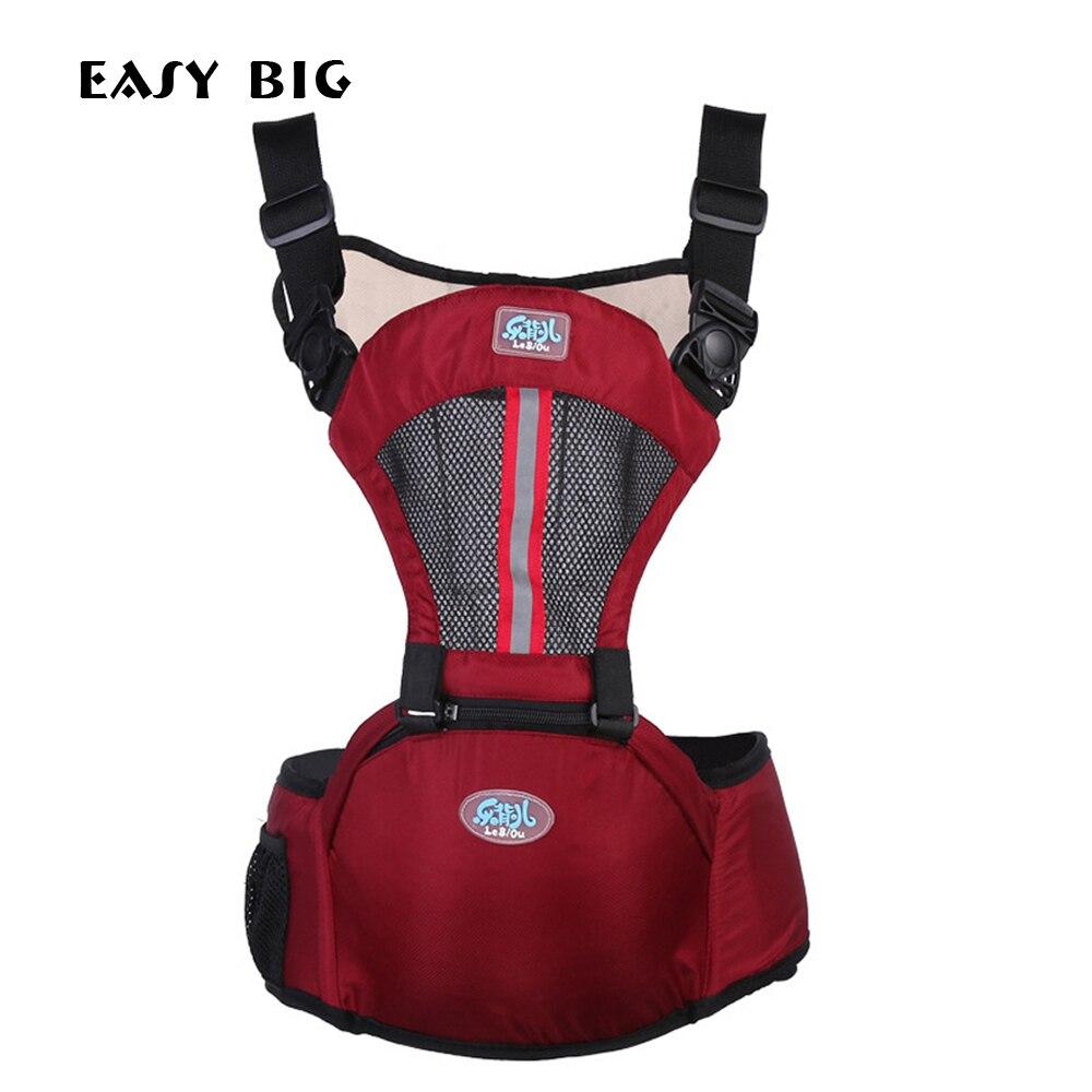 EASY BIG 3-36 Mois Respirant Multifonctionnel Devant Le Porte-Bébé Infant Sling Sac À Dos Pochette Wrap Baby AG0002