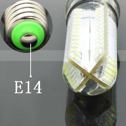 1 х 3 Вт 6 Вт 7 Вт 9 Вт 10 Вт 12 Вт E14 затемнения силиконовый корпус светодиодный светильник 220 V 3014 SMD 24-120 светодиодный s лампа для точечного света Хрустальная люстра