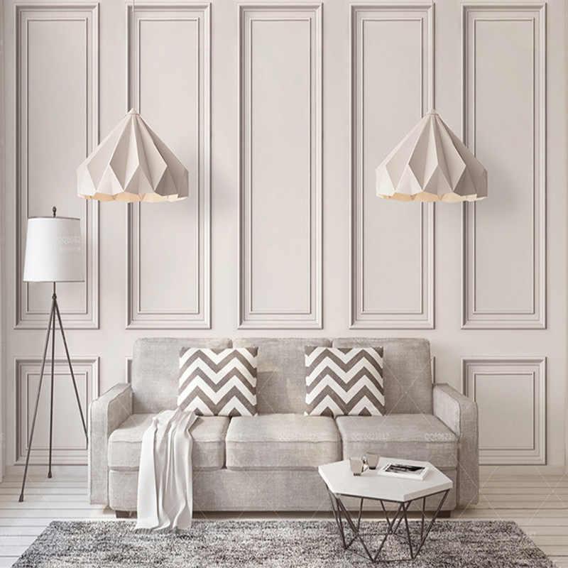 Современная креативная 3D рельефная квадратная рамка, фрески, обои, гостиная, спальня, фон, настенная ткань, художественные обои для стен 3 D