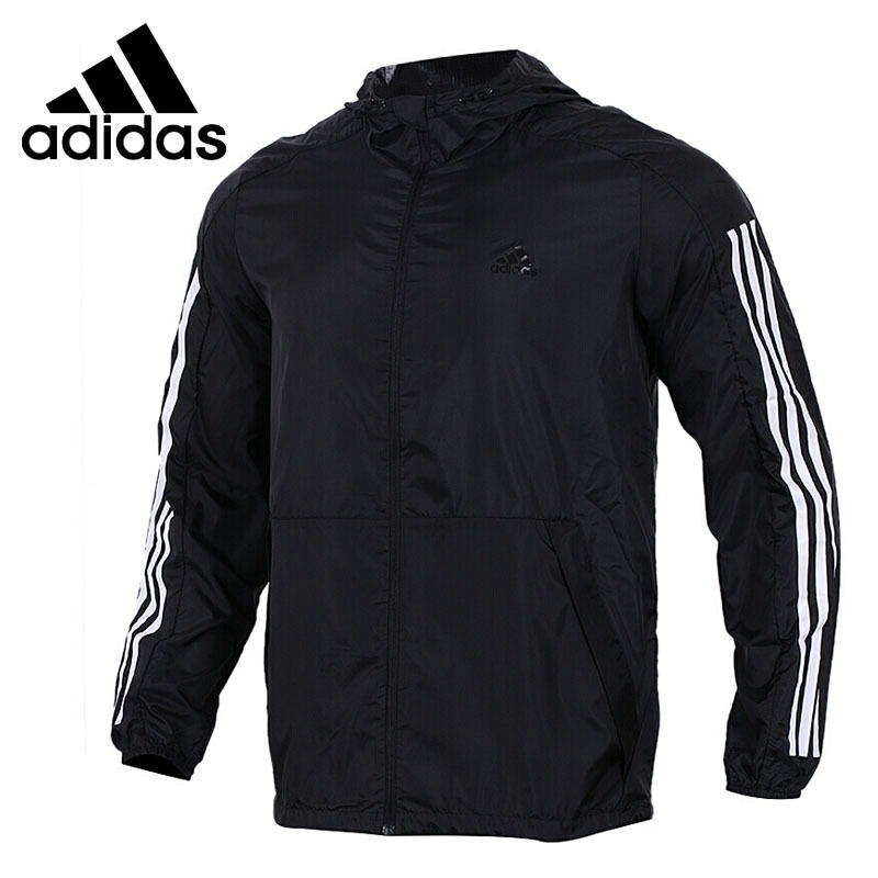 Original New Arrival 2018 Adidas Performance WB WV DATA Men's jacket Hooded Sportswear цена