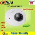 New Dahua 4MP IP Camera POE DH-IPC-HDBW4421F IP67 IK10 H.264 scan CMOS Support Onvif IR distance 20m IPC-HDBW4421F