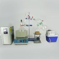 Lab Equipment 5L Short Path Distillation Complete Turnkey Package Vacuum Pump & Chiller Kits