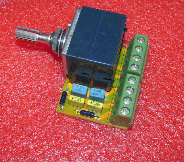 ALPI 27 tipo di 50K RC uguale volume potenziometro del Volume circuito A Doppio canale per Amplificatore di controllo del volume