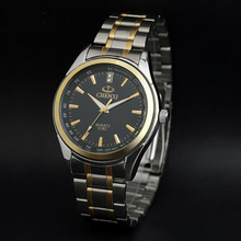 Luxe Top Marque CHENXI Hommes Robe Montre En Acier Inoxydable Or Argent Quartz Montre-Bracelet Étanche Rétro Homme D'affaires Horloge