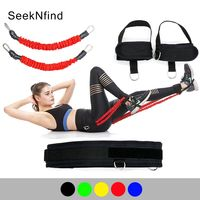 Booty Bands Set Resistance Bands Fitness Bounce Trainer Rope For A Bikini Butt Glutes Muscle Workout Jump Agility Equipment