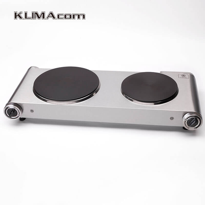 the best double hot plate for cooking electric stove 2 burners stainless steel two hotplates