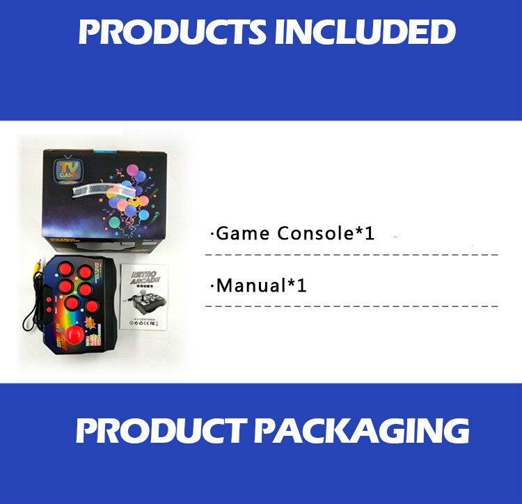Image 5 - Arcade video game console classic retro game machine built in 16 bit 145 models of the joystick arcade-in Video Game Consoles from Consumer Electronics