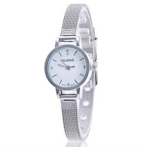 Ladies Watches Silver Bracelet Mesh-Band Stainless-Steel Hot-Sale Fashion Women Luxury