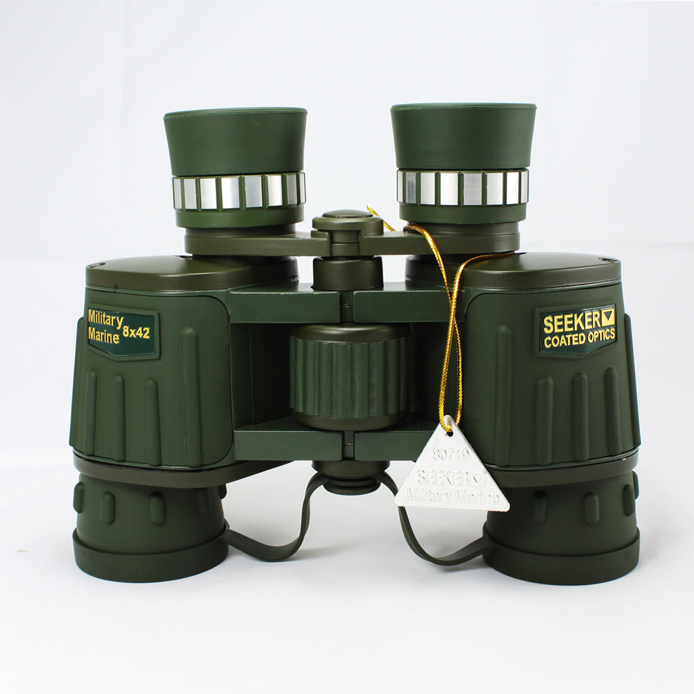 цены 8X Magnification High Quality Central Zoom BAK4 Low Light Night Vision Binoculars Telescope 8X42
