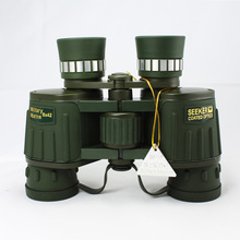 Promo offer 8X Magnification  High Quality Central Zoom BAK4 Low Light Night Vision Binoculars Telescope  8X42