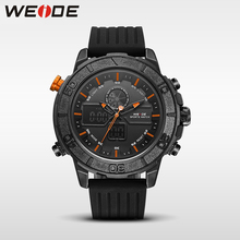 Weide genuine luxury quartz sport relogio digital saat masculino watch silicon analog LED automatic alarm clock water resistant цена
