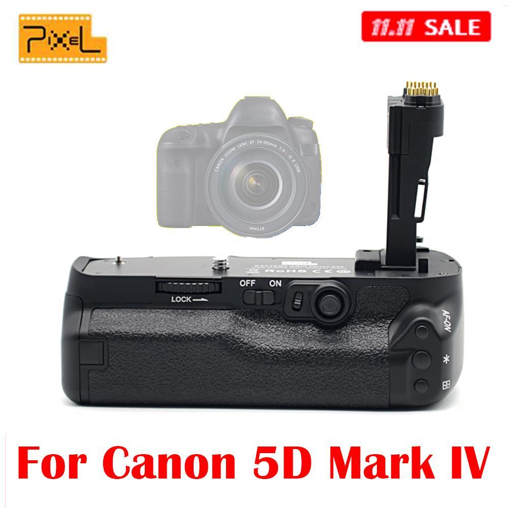 Pixel Vertax E20 Professional Battery Grip for Canon EOS 5D Mark IV DSLR Camera