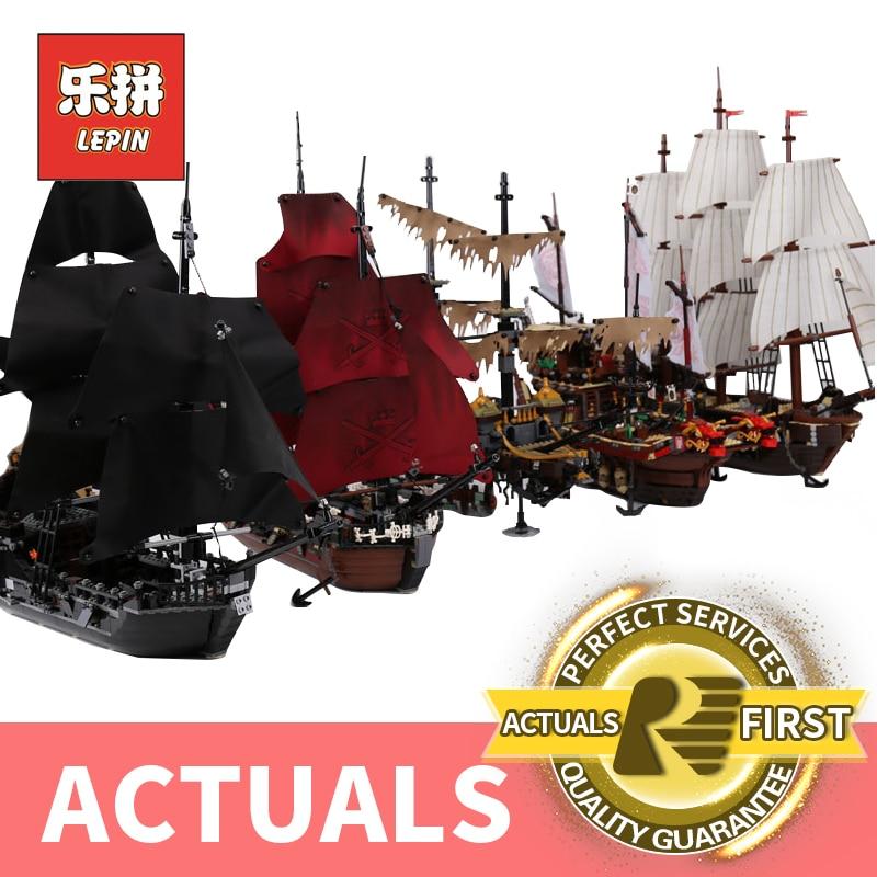 Лепин Пираты Карибского моря 16006 16009 черный жемчуг корабль 16016 06057 22001 LegoINGlys 4195 70618 модель строительные наборы Конструкторы
