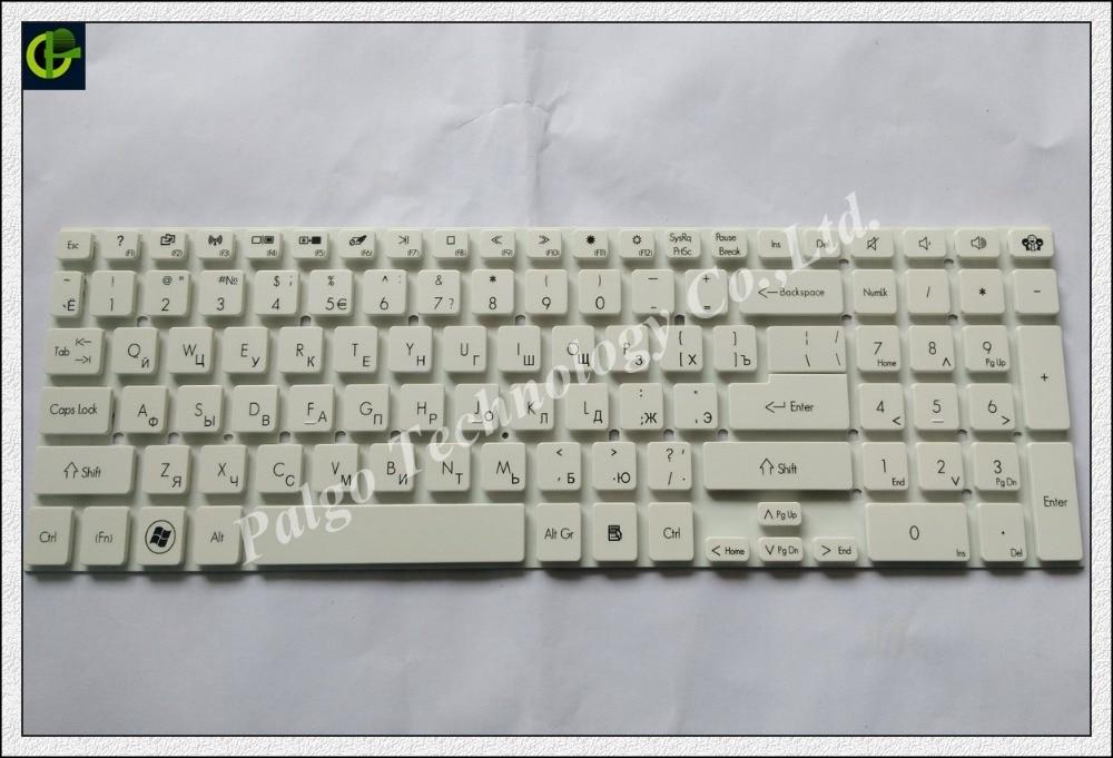 Russian RU Keyboard for Acer Aspire E5-721 E5-731 E5-731G E5-771 E5-771G 121746AS4RU AEZYW700110 ZYW white laptop lcd screen for acer aspire e5 772 e5 772g e5 722 e5 722g e5 752g es1 731 es1 731g series 17 3 inch 1600x900 30pin