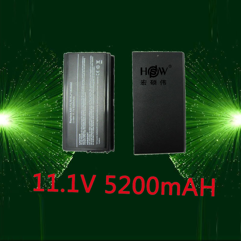 HSW 5200mAh Laptop Battery For Asus A32-F5 F5 F5C F5GL F5M F5N F5R F5RI F5SL F5V F5Z X50 X50C X50M X50N X50SL X50RL X50V X59 for asus f5r f5rl x50r x50rl laptop motherboard rev rev2 3 replace f5sl f5n motherboard fully tested 100