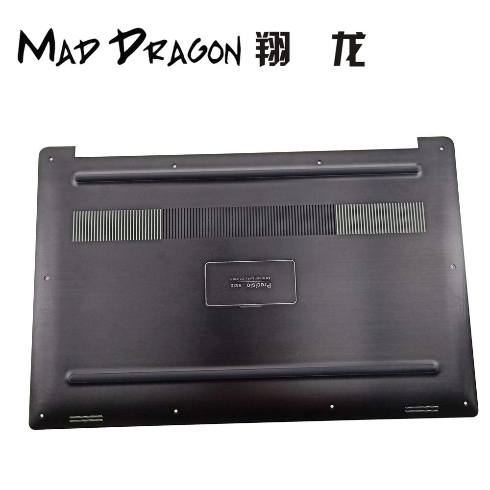 MAD DRAGON marque ordinateur portable 20 anniversaire édition noir fond couverture plaque signalétique Assy pour Dell précision 5530 M5530 0KMJP9 KMJP9