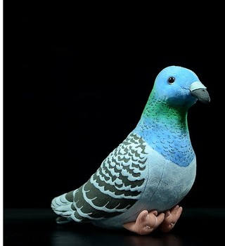 Cute Wild Pigeon Simulation Rock Pigeon Doll Super Meng Pigeon Doll Pigeon Doll Toy Gift 17cm ,Free shipping