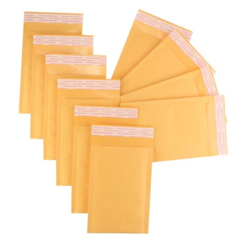 10 Kraft Self Seal Shipping Bubble Padded Mailers Envelopes Bags 183x120+34mm