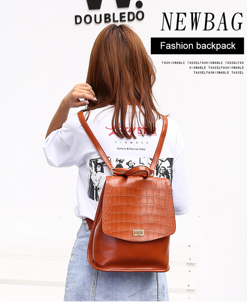 ac82c587d760 Famous Brand Backpack Women Backpacks Solid Vintage Girls School Bags for Girls  Black PU Leather Women Backpack Women Backpack female brand back pack ...