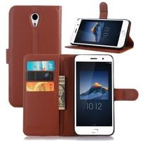 Smart Phone Cases Coque For Lenovo ZUK Z1 PU Flip Leather Case Fundas Magnetic Stand Wallet Card Holder Cover For Lenovo ZUK Z1