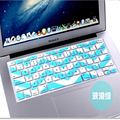 "Free Shipping Wave Pattern  Soft Silicone Keyboard Protector Cover Skin For Apple Macbook Pro 13"" 15"" 17"" Retina Air 13"""