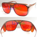New 532nm Green Laser Protection Goggles Safety Glasses Eyewears Absorption way