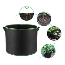 2 Gallon Black Plants Growing Bag Vegetable Flower Aeration Grow Planting Pot Container Garden