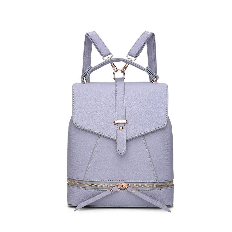 Bolsa feminina Bucket backpack Simple backpack College windswomen bags designer