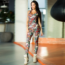 Womail bodysuit Women Summer Casual Backless Sexy Sleeveless Bandage Sport Fitne