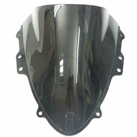 New Windshield Windscreen For 2004 2005 Suzuki GSX R 600 750 K4 Motorcycle Black