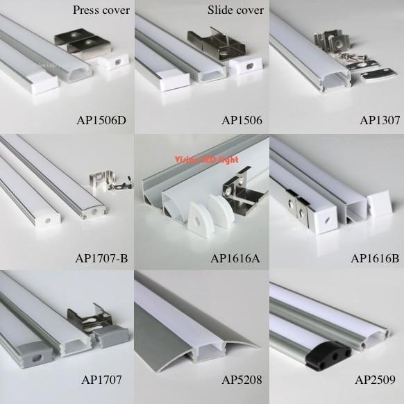 Promoci n de diferentes tipos de led compra diferentes - Tipos de perfiles de aluminio ...