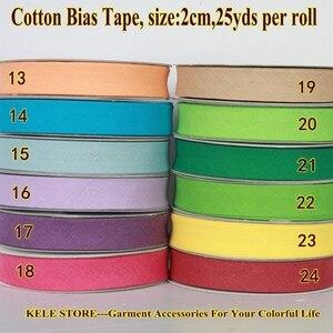 Бесплатная доставка лента из 100% хлопка, размер: 20 мм, ширина: 3/4 дюйма, 12 цветов, складная лента 25 ярдов, материал «сделай сам» 4 доллара/лот оптом, однотонная|diy materials|cotton tapetape bias | АлиЭкспресс