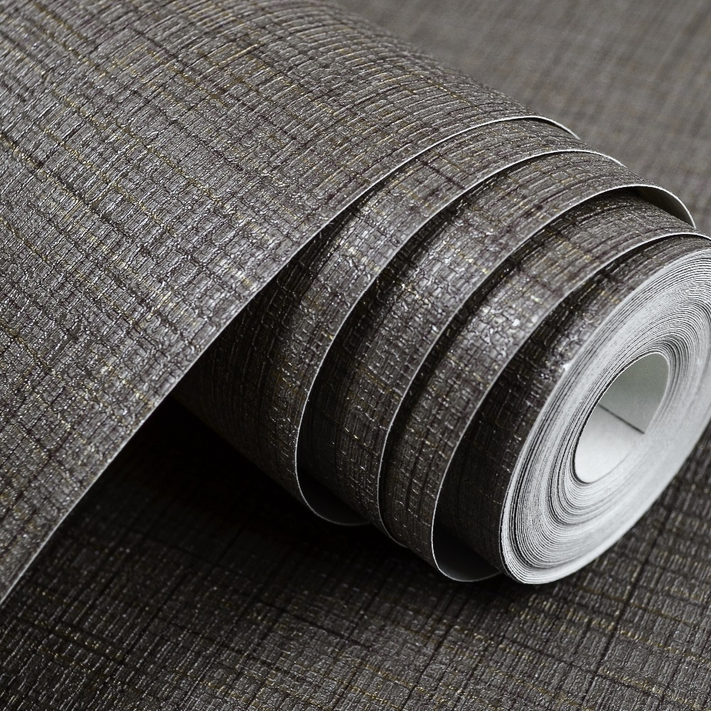 Online kopen Wholesale linnen textuur behang uit China linnen ...