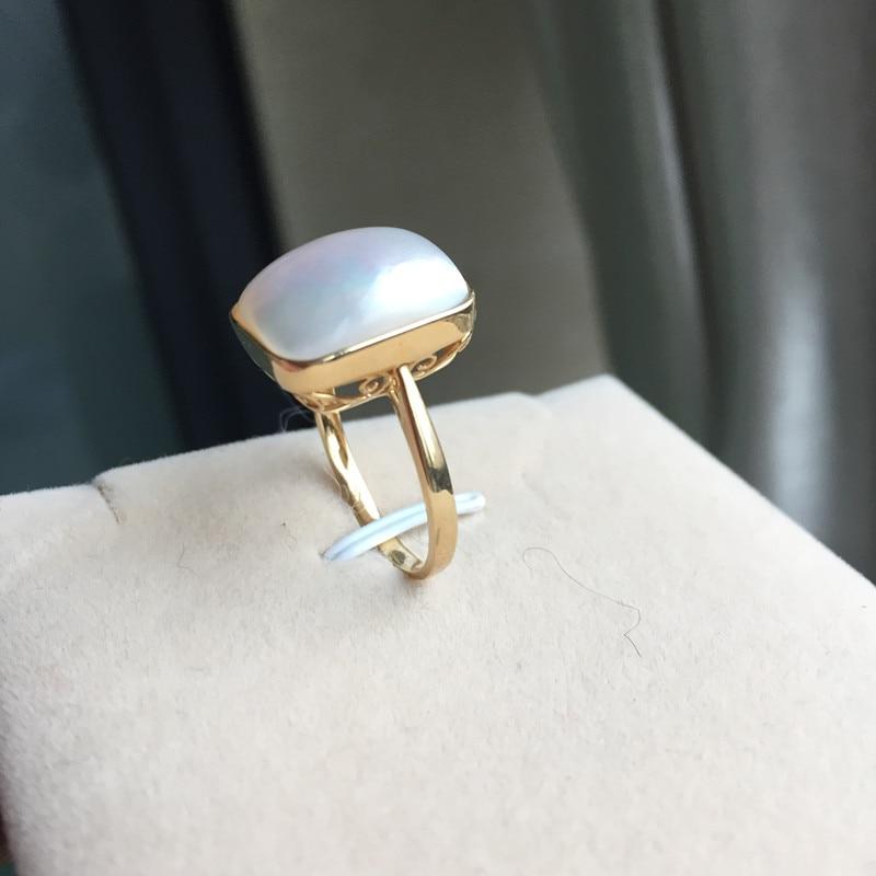 Éternel mariage femmes cadeau mot 925 Sterling réel longue durée naturel japonais Pui Pui perle oblongue 12.22*15mm, sto