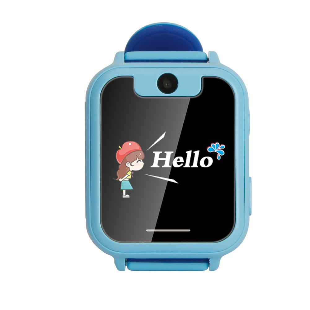 New 1.54 Inch Touch Screen SOS GPRS Location Flashlight Camera Child Smart Watch
