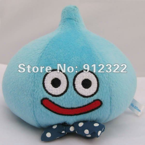 Free Shipping Smile Slime Blue Bow Tie Dragon Quest 25th