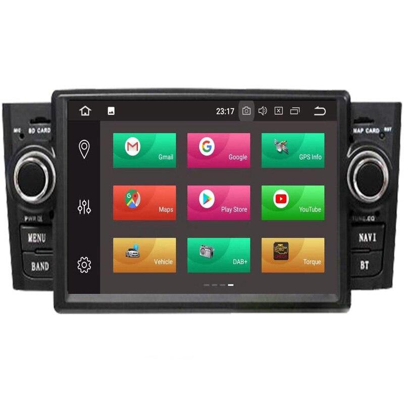 Android 9.0 octa core HD unité de tête GPS Navi Radio stéréo lecteur DVD de voiture pour JEEP Patriot boussole DODGE voyage Chrysler Sebring