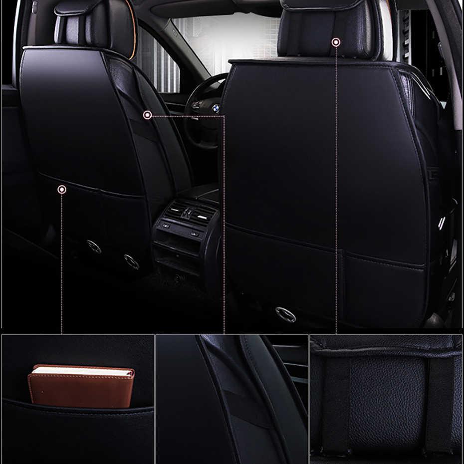Hexinyan Lederen Universele Auto Stoelhoezen Voor Grote Muur Alle Modellen Tengyi C30 C50 Hover H6 H5 H3 Auto Styling auto Kussen