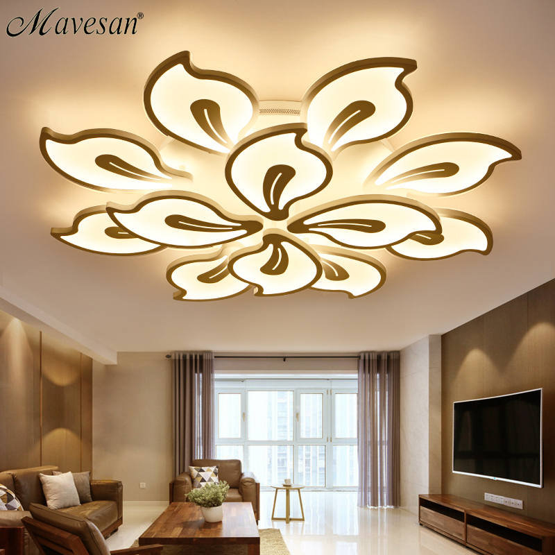2018 bedroom acrylic Ceiling Lights for kids room Ultrathin ceiling lamp Modern Decorative lampshade Lamparas de techo