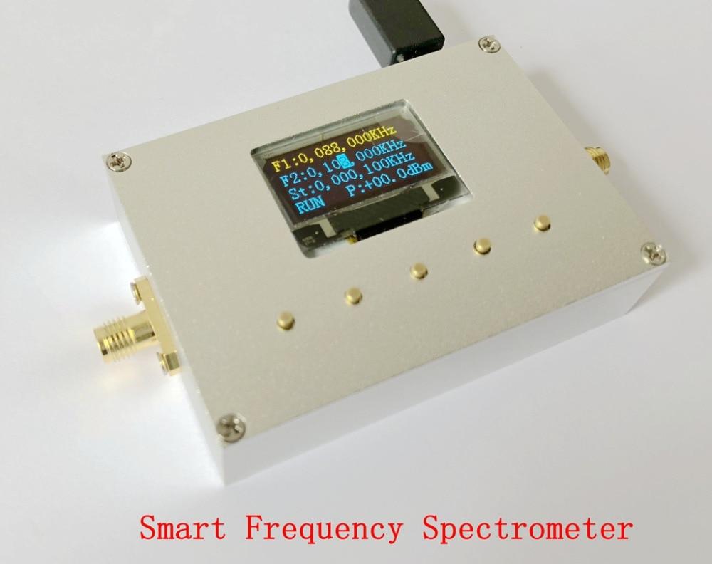 10-6000 MHz analyseur de spectre portatif intelligent spectromètre de fréquence RF Source compteur d'énergie pour FM WIFI