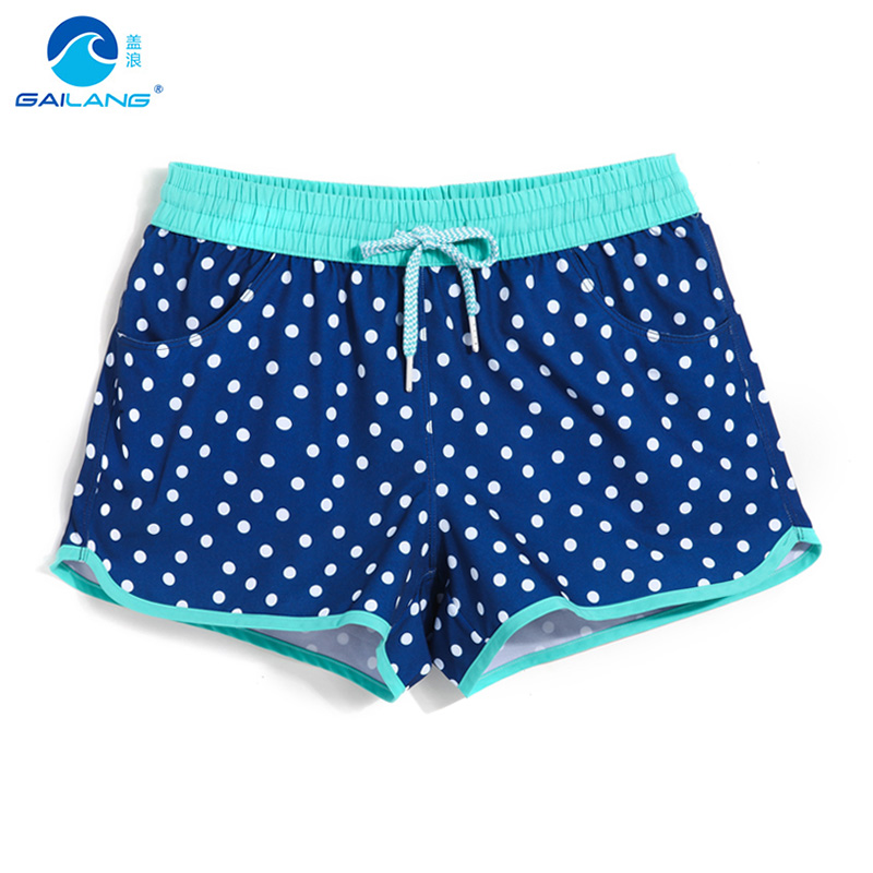 Lady   board     shorts   swimming   short   swimsuits dot sexy quick dry female running   shorts   swimwear   board   sweat plavky beach   shorts