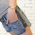 Verão novo estilo shorts jeans loose women hot shorts para mulheres plus size calças femininas calças mostrar fina shorts jeans G0257