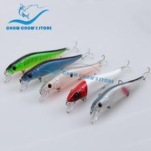 Super Price! 5PCS/lot 14cm 23g 3D eyes Fishing Lure Japan Minnow With Treble Hooks Carp Fishing Wobblers Artificial Hard Bait