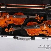 Двойной чехол для скрипки 4/4 высокопрочный чехол для скрипки из углеродного волокна белый можно поставить одну скрипку+ одну скрипку