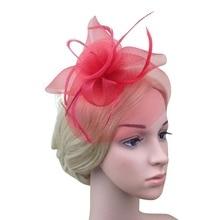 Lady Elegant Fascinator Hat Clips Hairpins Hair Accessories Wedding Party Church ML45