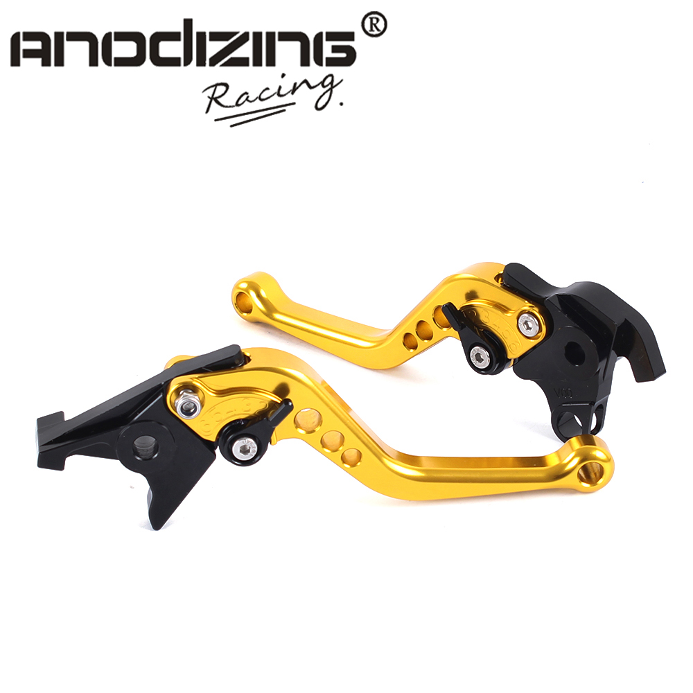 F-18 V-00 Motorcycle Brake Clutch Levers For HONDA VTR1000F / FIRESTORM CBF1000 VFR750 VF750S SABRE VFR800/F gt motor f 18 v 00 adjustable brake clutch levers for honda vtr1000f firestorm cbf1000 vfr750 vf750s sabre vfr800 f