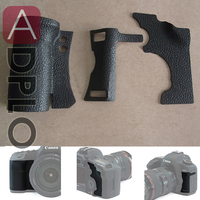 A Set Of Camera Accessory 3 Pieces Body Rubber Cover Replacement Part Suit For Canon EOS
